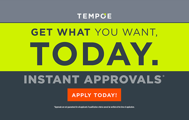 Tempoe Financing Click Here To Apply